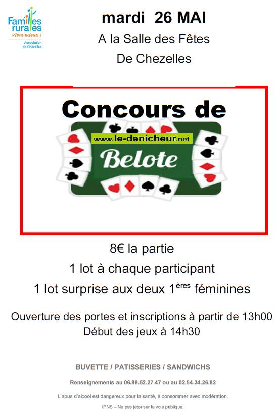 e26 - MAR 26 mai - CHEZELLES - Concours de belote annulé */ 05-26_20