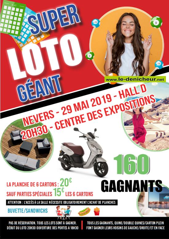 q29 - MER 29 mai - NEVERS (58) - Loto Géant */ 05-29_10