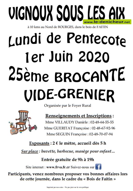 f01 - LUN 01 juin - VIGNOUX sous les Aix - Brocante du Foyer rural */ 06-01_20