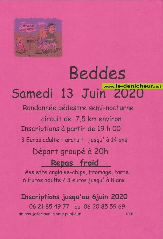 f13 - SAM 13 juin - BEDDES - Randonnée pédestre semi-nocturne .*/ 06-03_10