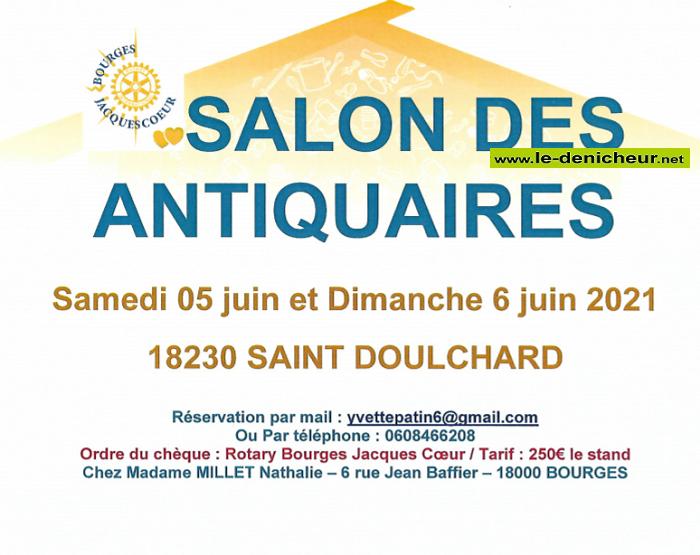 r06 - DIM 06 juin - ST-DOULCHARD - Salon des Antiquaires */ 06-05_12