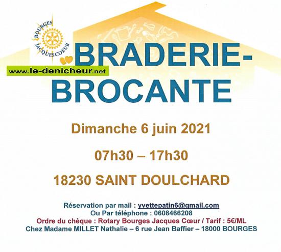 r06 - DIM 06 juin - ST-DOULCHARD - Braderie Brocante */ 06-06_11