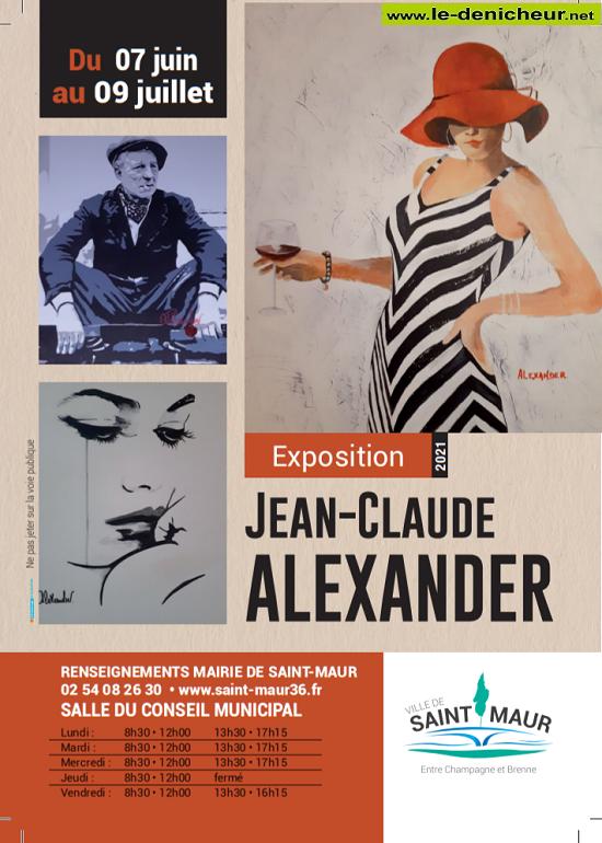 s09 - Jusqu'au 9 juillet - ST-MAUR - Exposition Jean-Claude Alexander * 06-07_13