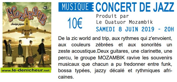r06 - SAM 08 juin - LEVET - Mozambik en concert */ 06-0810