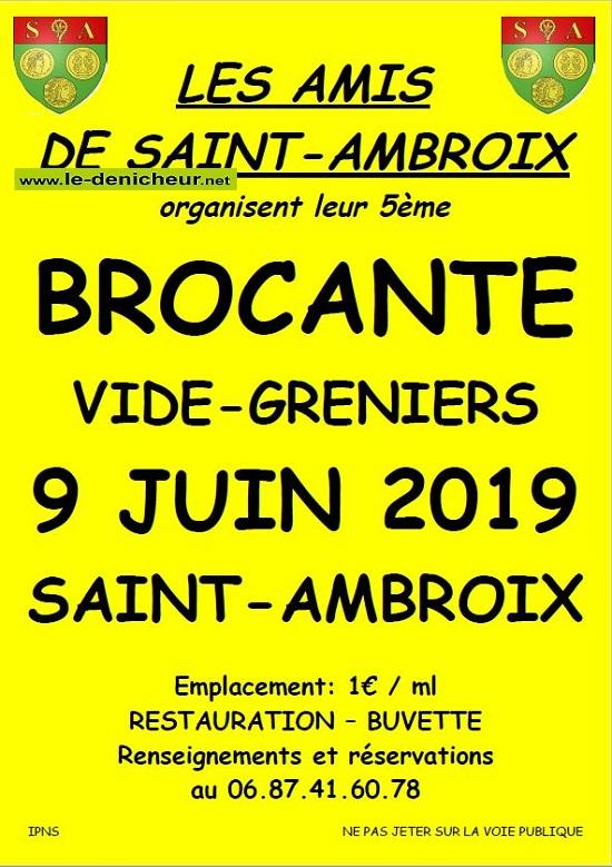 r09 - DIM 09 juin - ST-AMBROIX - Brocante des Amis de St-Ambroix */ 06-09_11