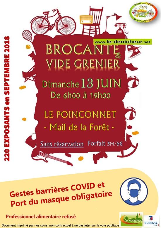 r13 - DIM 13 juin - LE POINCONNET - Brocante du comité des fêtes _* 06-13_12