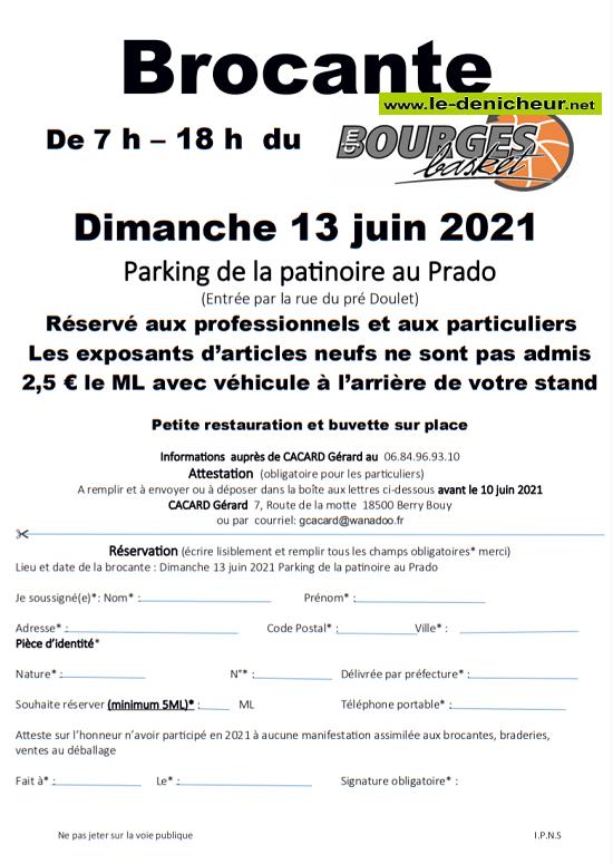 r13 - DIM 13 juin - BOURGES - Brocante du basket _* 06-13_13
