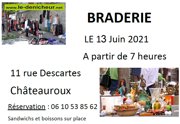 r13 - DIM 13 juin - CHATEAUROUX - Braderie 06-1413
