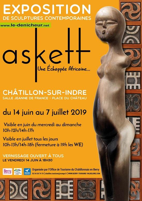 s07 - Jusqu'au 7 juillet - CHATILLON - Exposition de sculptures contemporaines */ 06-14_15