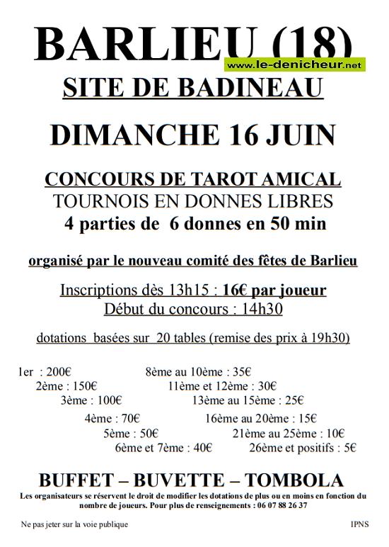 r16 - DIM 16 juin - BARLIEU - Concours de tarot .*/ 06-16_14