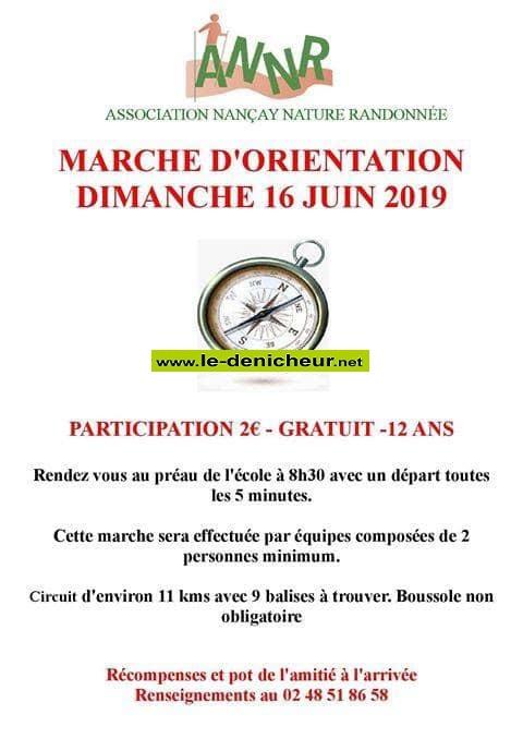 r16 - DIM 16 juin - NANCAY - Marche d'orientation * 06-16_46