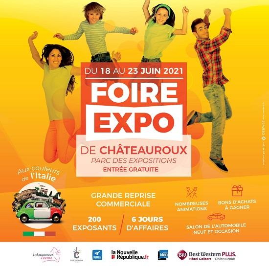 r18 - Du 18 au 23 juin - CHATEAUROUX - Foire Exposition * 06-18_11