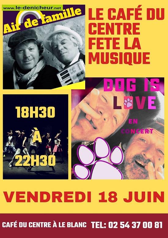 r18 - VEN 18 juin - LE BLANC - Air de Famille + Dog is Love en concert * 06-18_12