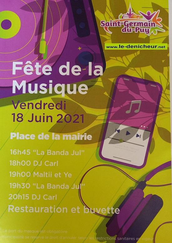 r18 - VEN 18 juin - ST-GERMAIN DU PUY - Fête de la musique * 06-18_14