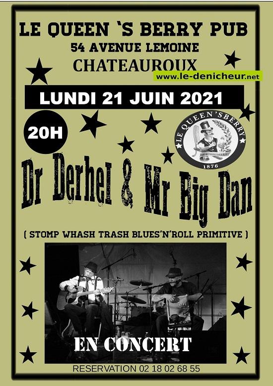 r21 - LUN 21 juin - CHATEAUROUX - Dr Derhel & Mr Big Dan en concert * 06-21f10