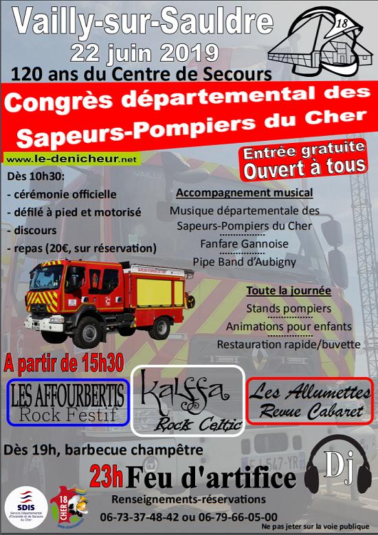 r22 - SAM 22 juin - VAILLY /Sauldre - Congrès départemental des Sapeurs Pompiers*/ 06-22_10