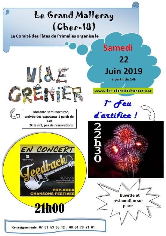 r22 - SAM 22 juin - LE GRAND MALLERAY - Brocante  * 06-22_20
