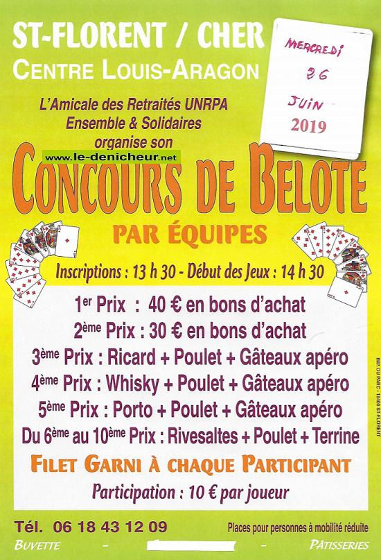 r26 - MER 26 juin - ST-FLORENT /Cher - Concours de belote */ 06-26_10