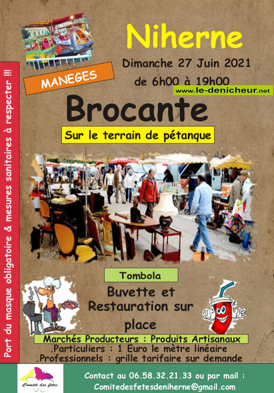 r27 - DIM 27 juin - NIHERNE - Brocante du comité des fêtes _* 06-27_15