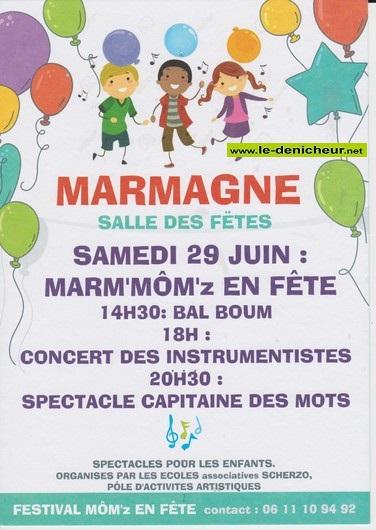 r29 - SAM 29 juin - MARMAGNE - Marm'Môm'z en Fête */ 06-29_13