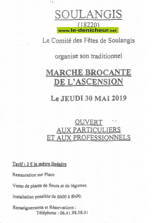 q30 - JEU 30 mai - SOULANGIS - Brocante du comité des fêtes */ 06-30_23