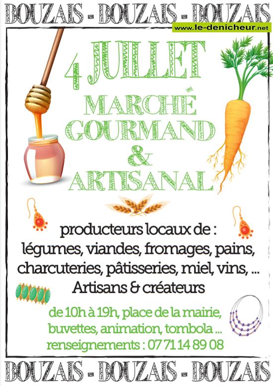 s04 - DIM 04 juillet - BOUZAIS - Marché Gourmand & Artisanal */ 07-04_15
