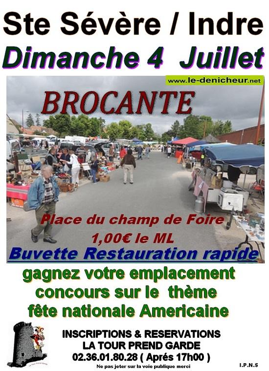 s04 - DIM 04 juillet - STE-SEVERE - Brocante de la Tour prend Garde * 07-04_27