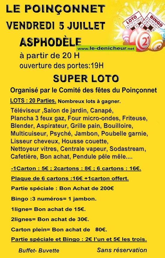 s05 - VEN 05 juillet - LE POINCONNET - Loto du comité des fêtes */ 07-05_12