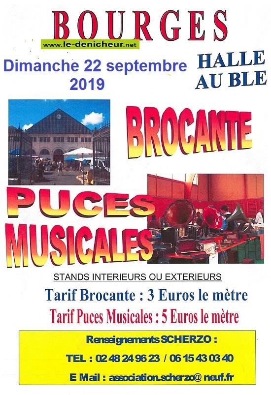 u22 - DIM 22 septembre - BOURGES - Brocante - Puces musicales */ 07-07_39