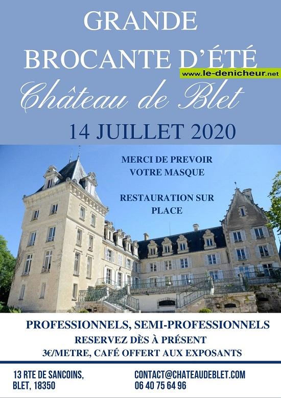g14 - MAR 14 juillet - BLET - Brocante */ 07-14_54