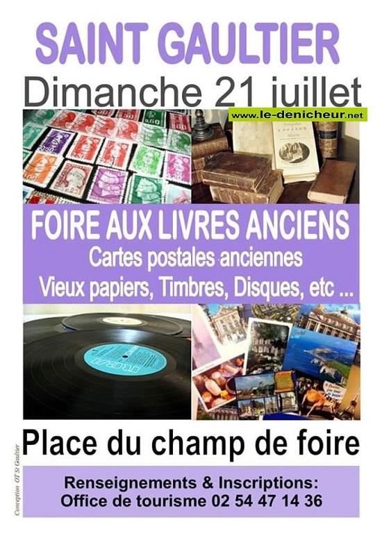 s21 - DIM 21 juillet - ST-GAULTIER - Foire aux livres, CP, timbres . . .  07-21_43