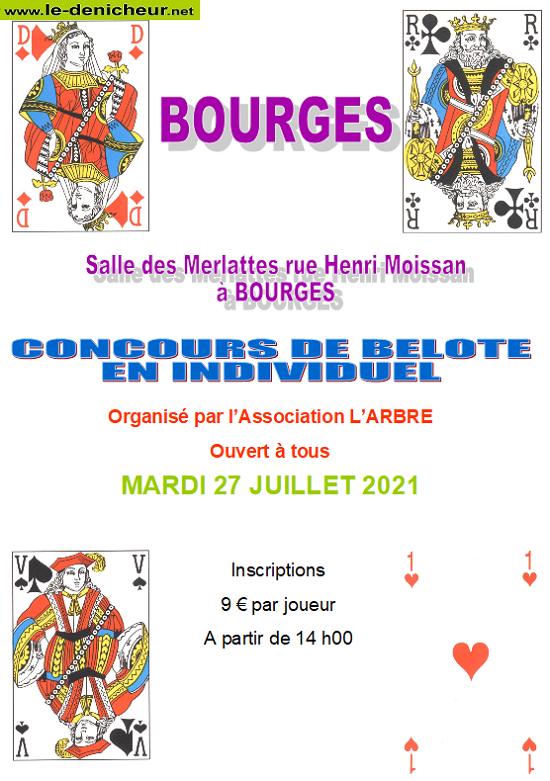 s27 - MAR 27 juillet - BOURGES - Concours de belote */ 07-27_22