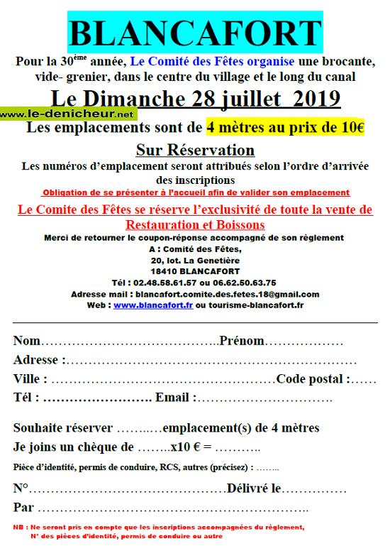 s28 - DIM 28 juillet - BLANCAFORT - Brocante du comité des fêtes */ 07-28_18