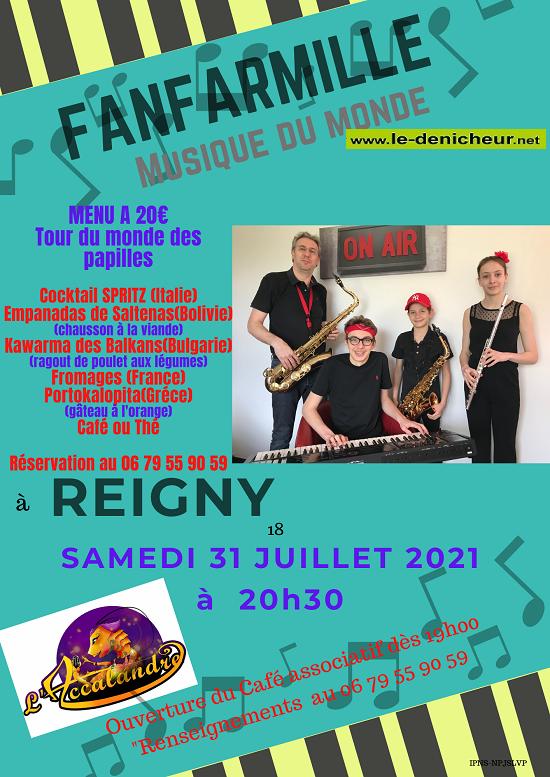 s31 - SAM 31 juillet - REIGNY - Fanfarmille en concert (musique du monde) 07-31_13