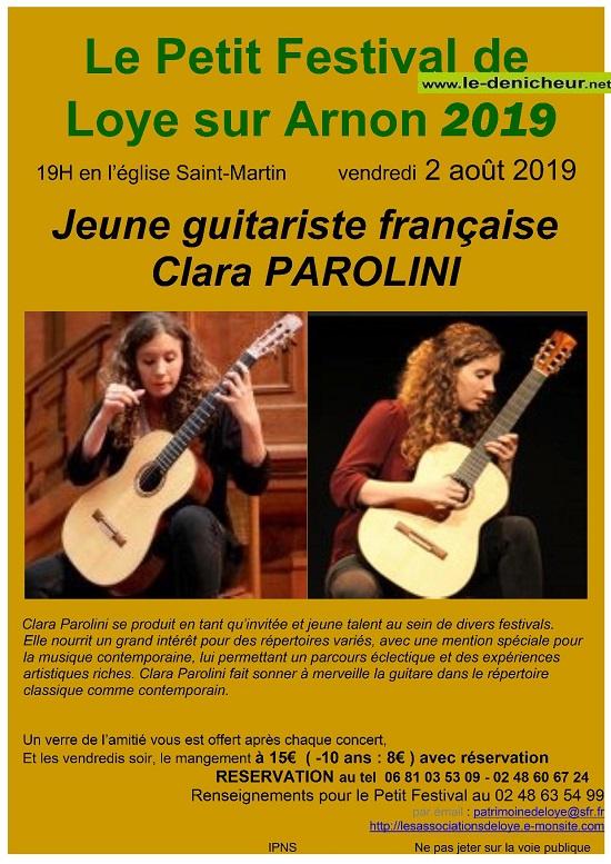 t02 - VEN 02 août - LOYE /Arnon - Concert en l'église */ 08-02_11