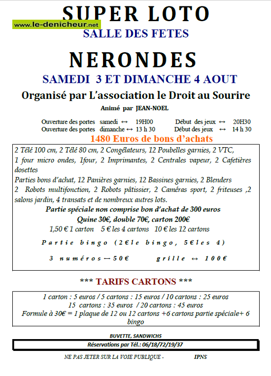 t03 - SAM 03 août - NERONDES - Loto de Droit au Sourire */ 08-03_12