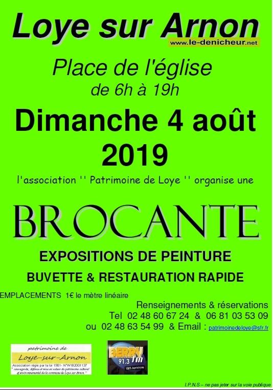 t04 - DIM 04 août - LOYE /Arnon - Brocante du Patrimoine de Loye */ 08-04_20