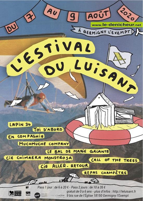h07 - Du 7 au 9 août - GERMIGNY L'EXEMPT - L'Estival du Luisant */ 08-07_13