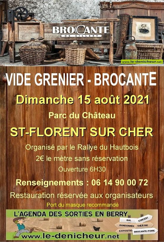 t15 - DIM 15 août - ST-FLORENT /Cher - Brocante du Rallye du Hautbois */ 08-15_50
