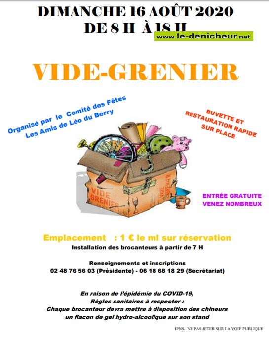h16 - DIM 16 août - ST-LEGER LE PETIT - Vide -grenier _* 08-16_13