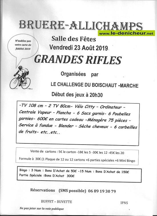 t23 - VEN 23 août - BRUERE-ALLICHAMPS - Rifles du Challenge du Boischaut Marche 08-2310