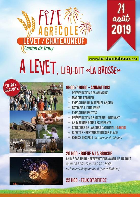 t24 - SAM 24 août - LEVET - Fête Agricole .*/ 08-24_14