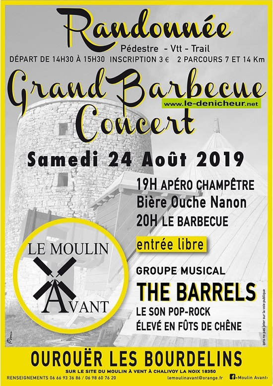 t24 - SAM 24 août - OUROUER LES BOURDELINS - Grand barbecue */ 08-24_18