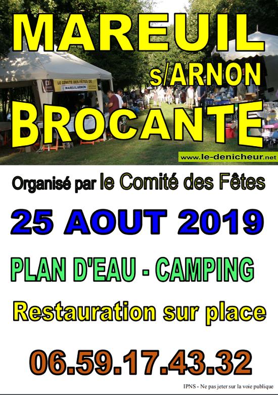 t25 - DIM 25 août - MAREUIL /Arnon - Brocante du comité des fêtes */ 08-25_15