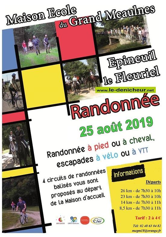 t25 - DIM 25 août - EPINEUIL LE FLEURIEL - Randonnée pédestre équestre et VTT */ 08-25_32