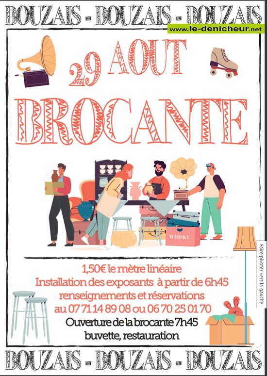 t29 - DIM 29 août - BOUZAIS - Brocante */ 08-29_14