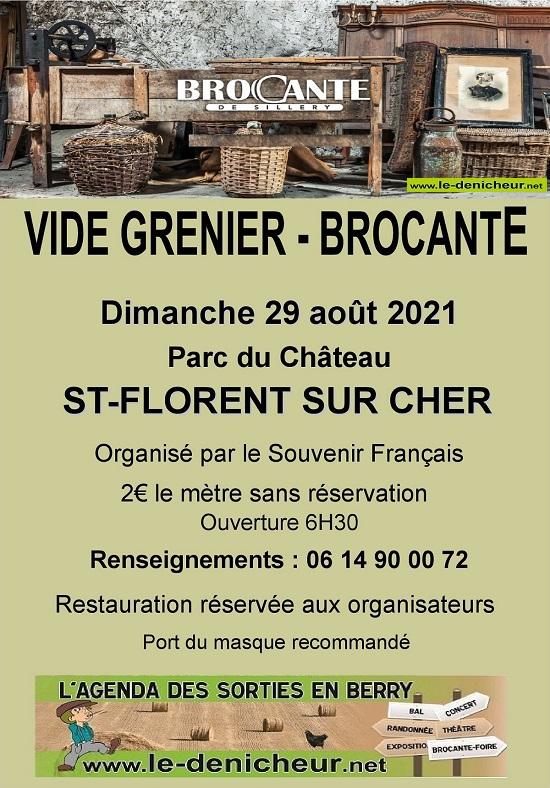 t29 - DIM 29 août - ST-FLORENT /Cher - Brocante du Secours Français */ 08-29_15