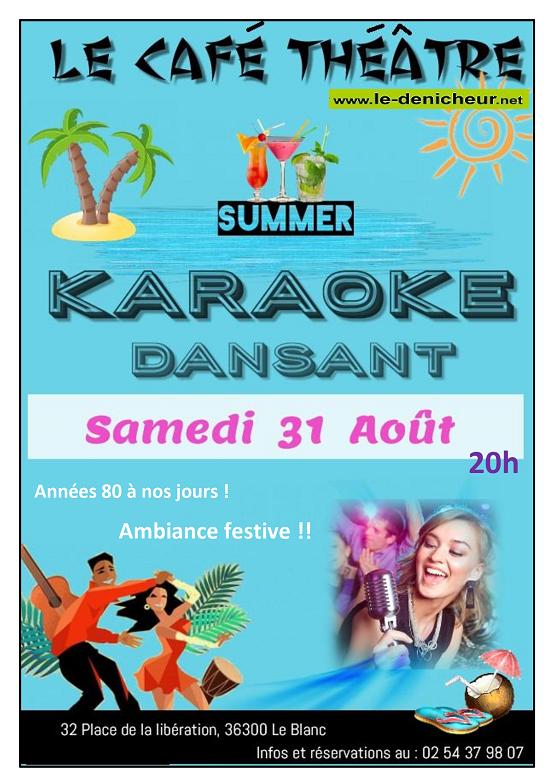 t31 - SAML 31 août - LE BLANC - Soirée karaoké * 08-31_14