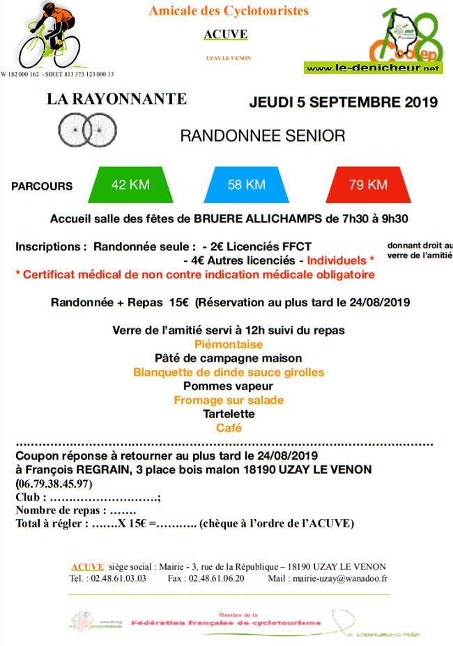 u05 - JEU 05 septembre - BRUERE ALLICHAMPS - Randonnée  séniors à vélo */ 09-05_12