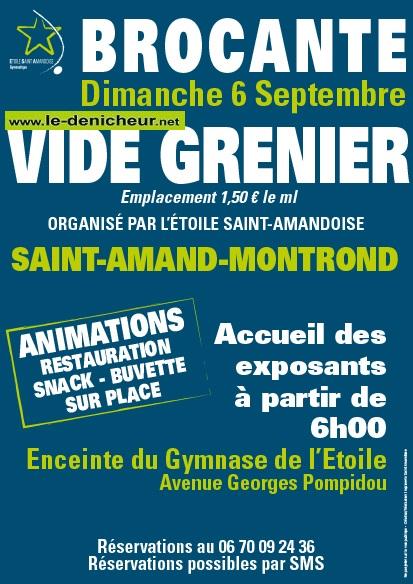 i06 - DIM 06 septembre - ST-AMAND-MONTROND - Brocante de l'Etoile St-Amandoise */ 09-06_17